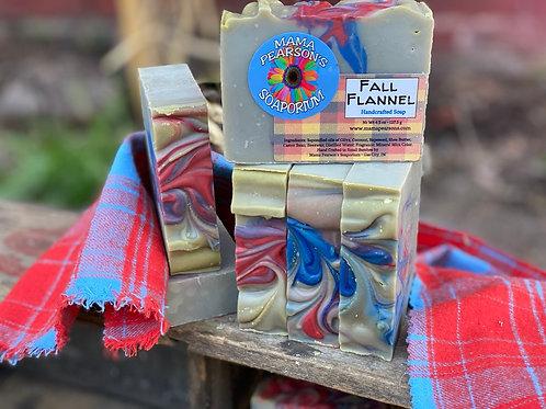 Fall Flannel Soap