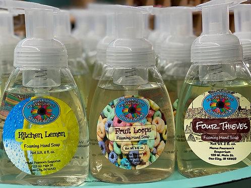 Foaming Hand Soap 8 oz. Bottle
