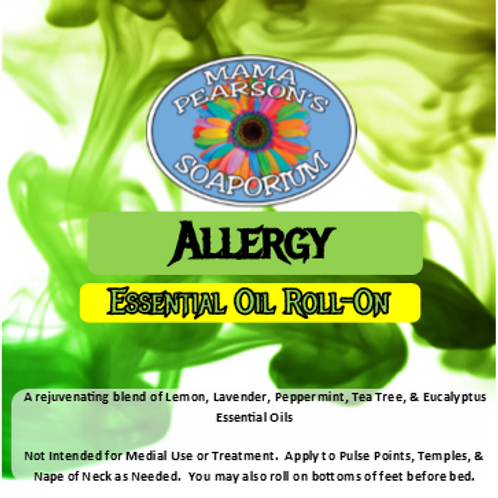 Allergy Essential Oil Blend Roll-On