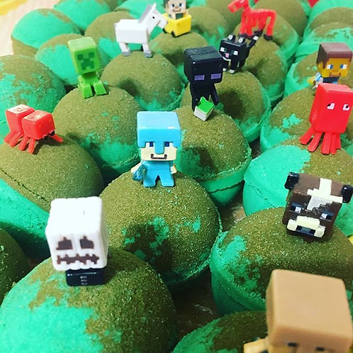 Minecraft Toy Bath Bomb