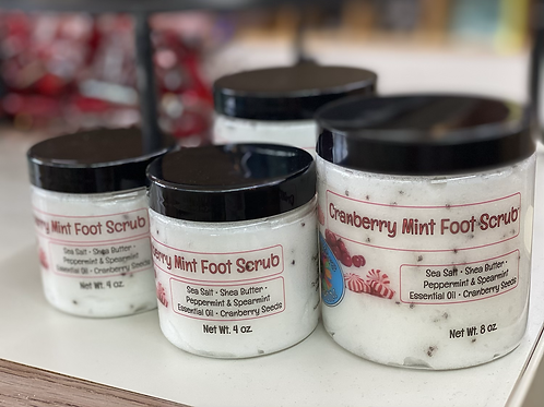 Cranberry Mint Foot Scrub