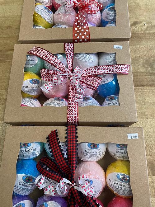 Dozen Gift Boxed Bath Bombs