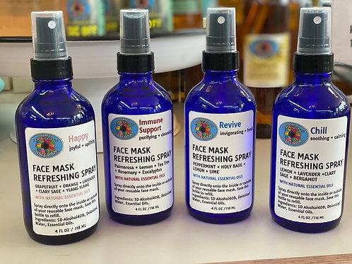 Face Mask Refreshing Spray 2oz