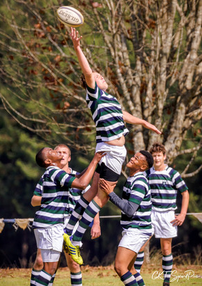 Jarred Schoeman in the line out for the
