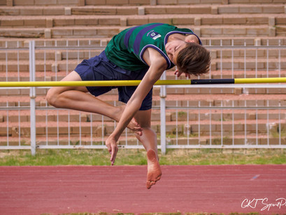Stanford Lake College excels in track and field