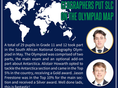 Geographers put SLC on the Olympiad map