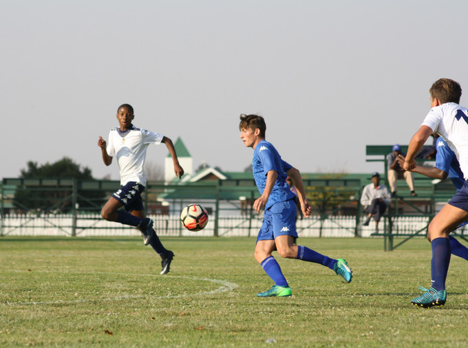 Ethan Jones chasing the ball..JPG