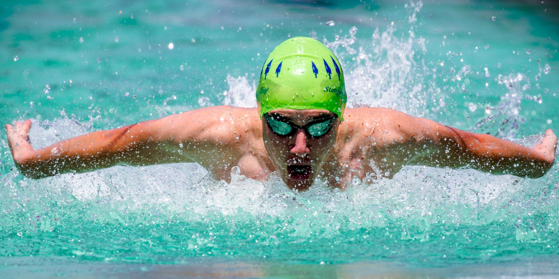 Stanford Lake College Swimming