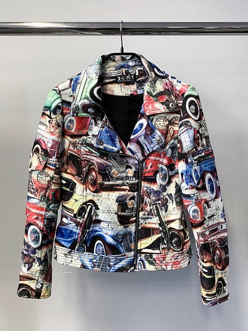 ETOILE DU MONDE Biker-style Jacket