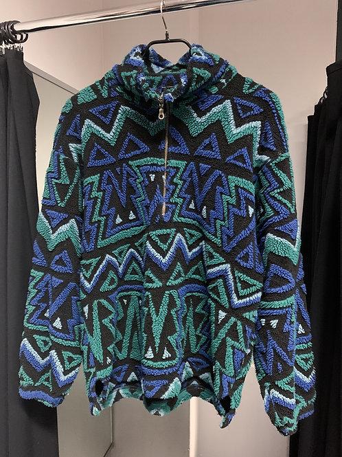 Fleece Half-zip Sweater - SERGIO TACCHINI