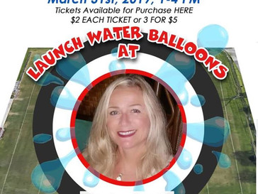 Launch Water Balloons at Lisa Cucchi this Sunday 3/31 from 1-4!