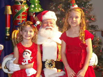 Santa Claus is coming to St. Colemans Sunday December 9th!