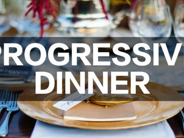 SCWC's First Annual Progressive Dinner Raffle Tickets Going on Sale Soon!!!