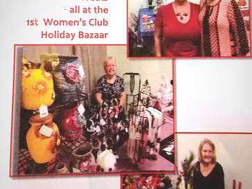 Our First Annual Holiday Bazaar Was Fantastic!