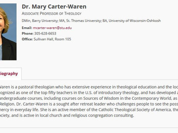 Save the Date: Wednesday April 18, 2018 SCWC General Meeting with Guest Speaker Dr. Mary Carter-Ware