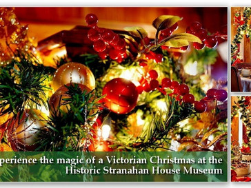 Social: Victorian Christmas at Stranahan House/Boat Tour on 12/18