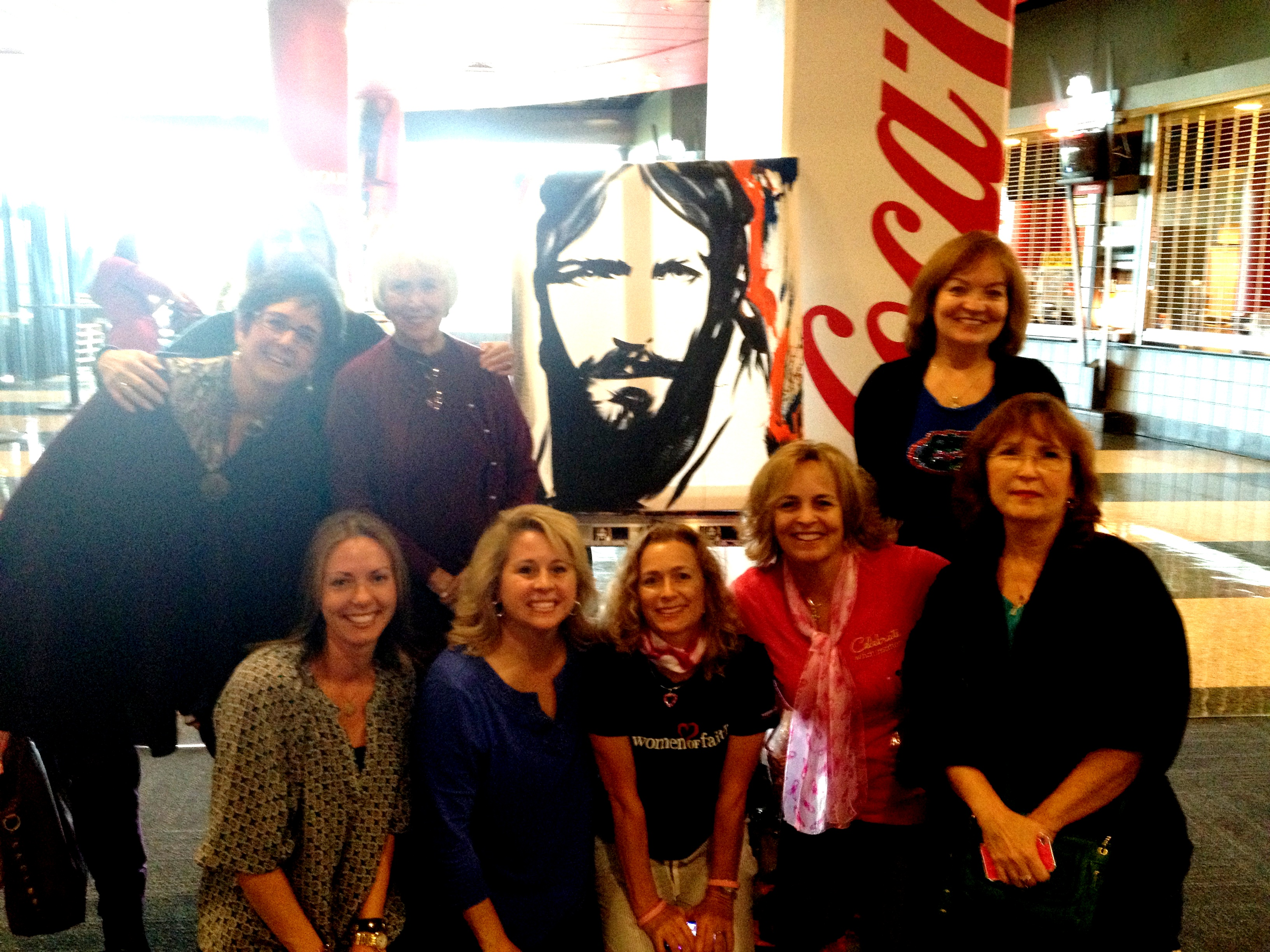 The Jesus Painter at Women of Faith