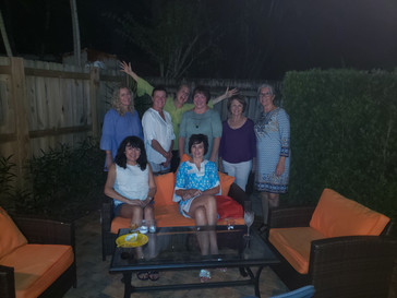 What a Great Time at the Wine Share at Betty's House!!!