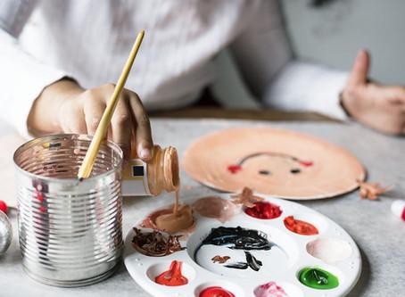 Use creativity to practice presence.