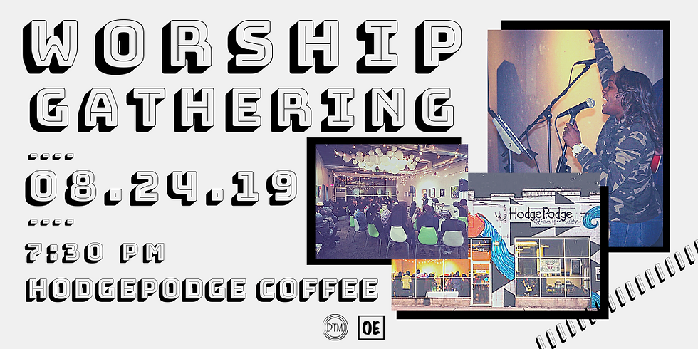 Worship at Hodgepodge Coffee!