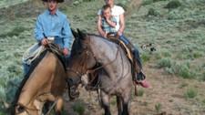 Mama rode the circle horse...