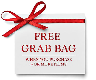 FREE GRAB BAG WITH PURCHASE