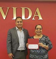 Union Pacific Check Presentation to VIDA