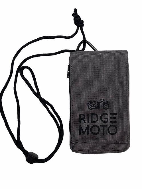 Ridge Moto Phone Pouch XL [Grey]