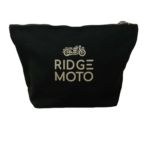 Ridge Moto Organic Stuff Bag - Black