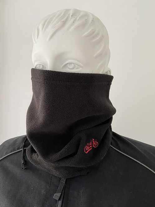 Ridge Moto #030 Polar Fleece Necktube [Red/Blk]