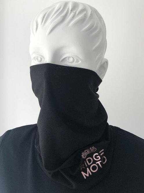 Ridge Moto #023 Necktube [Blk/Rose Gold]