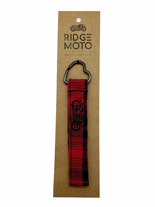 Ridge Moto Heart Keyring [Pld/Red]