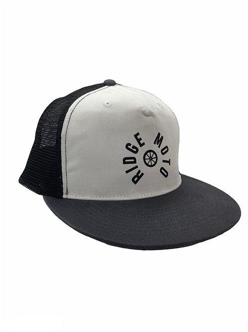 Ridge Moto TRACK Baseball Cap [Grey/Black]