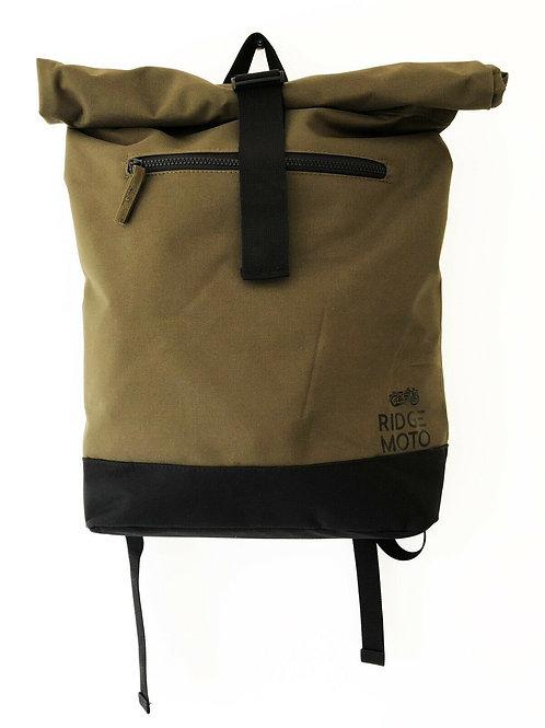 Ridge Moto Roll Top Backpack