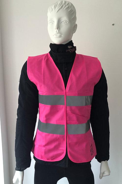 Ridge Moto Hi-Viz Pink Vest