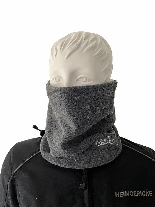 Ridge Moto #031 Polar Fleece Necktube [Wht/Gry]