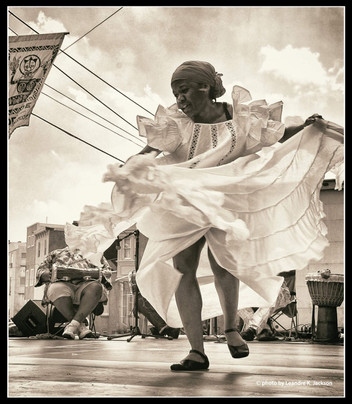 Dancer at Odunde