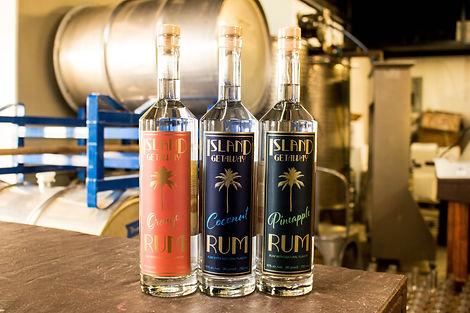 Island Getaway Rum | Hye Rum | Ruminate Distilling | Orange Rum | Coconut Rum | Pineapple Rum