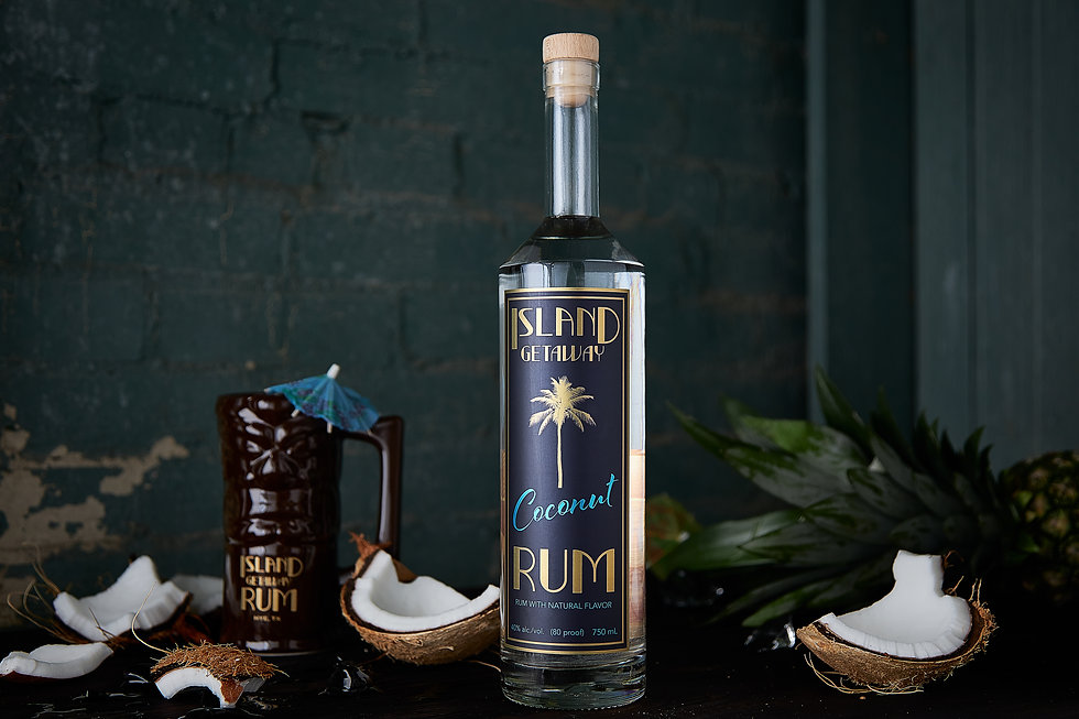 Ruminate Distilling. Home of Island Getaway Rum - Coconut, Pineapple and Orange