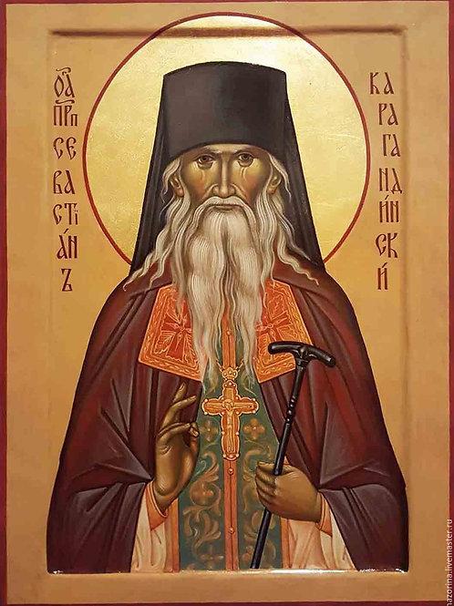 Молебен прп. Севастьяну Карагандинскому