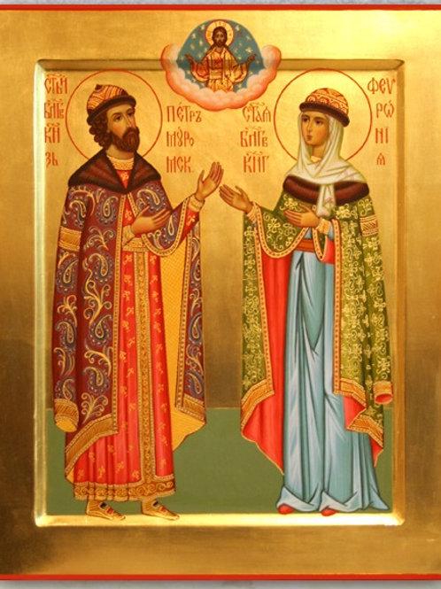 Молебен святым благоверным князю Петру и княгине Февронии