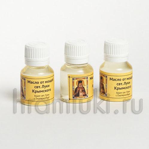 Масло от мощей свт. Луки Крымского