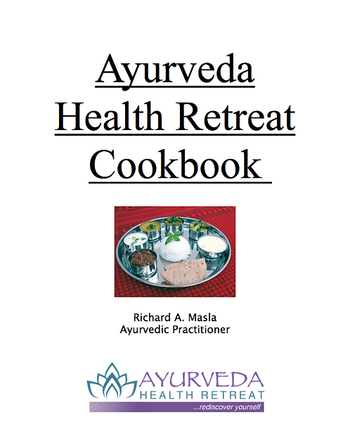 Ayurveda Health Retreat Cookbook