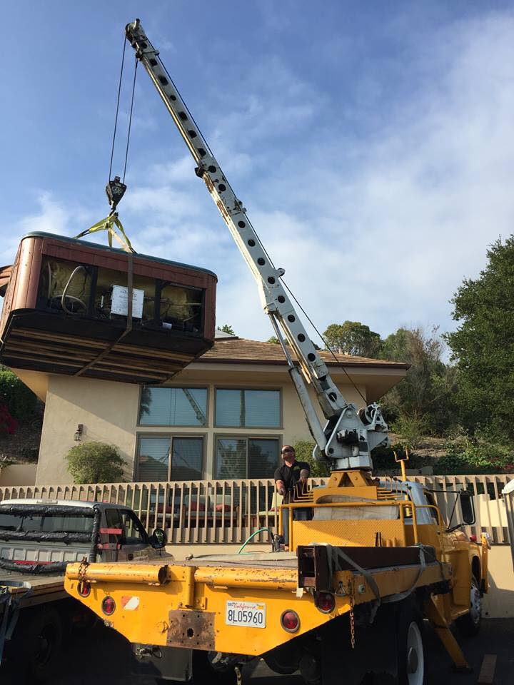 bucks movers spa crane