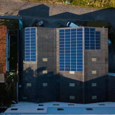 Energia solar - Florestal Móveis