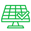 Manutenção preventiva sistema fotovoltaico