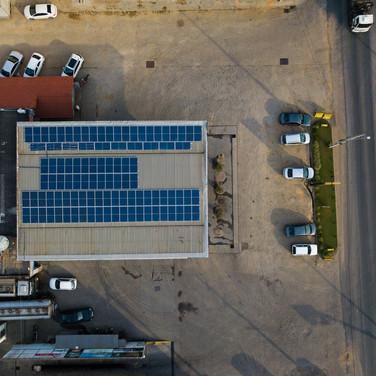 Energia solar - Posto Pegásus