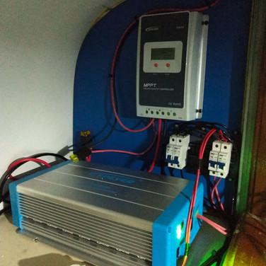 Energia solar off-grid - Motorhome