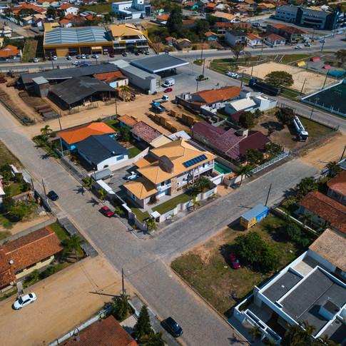 Energia solar em residência