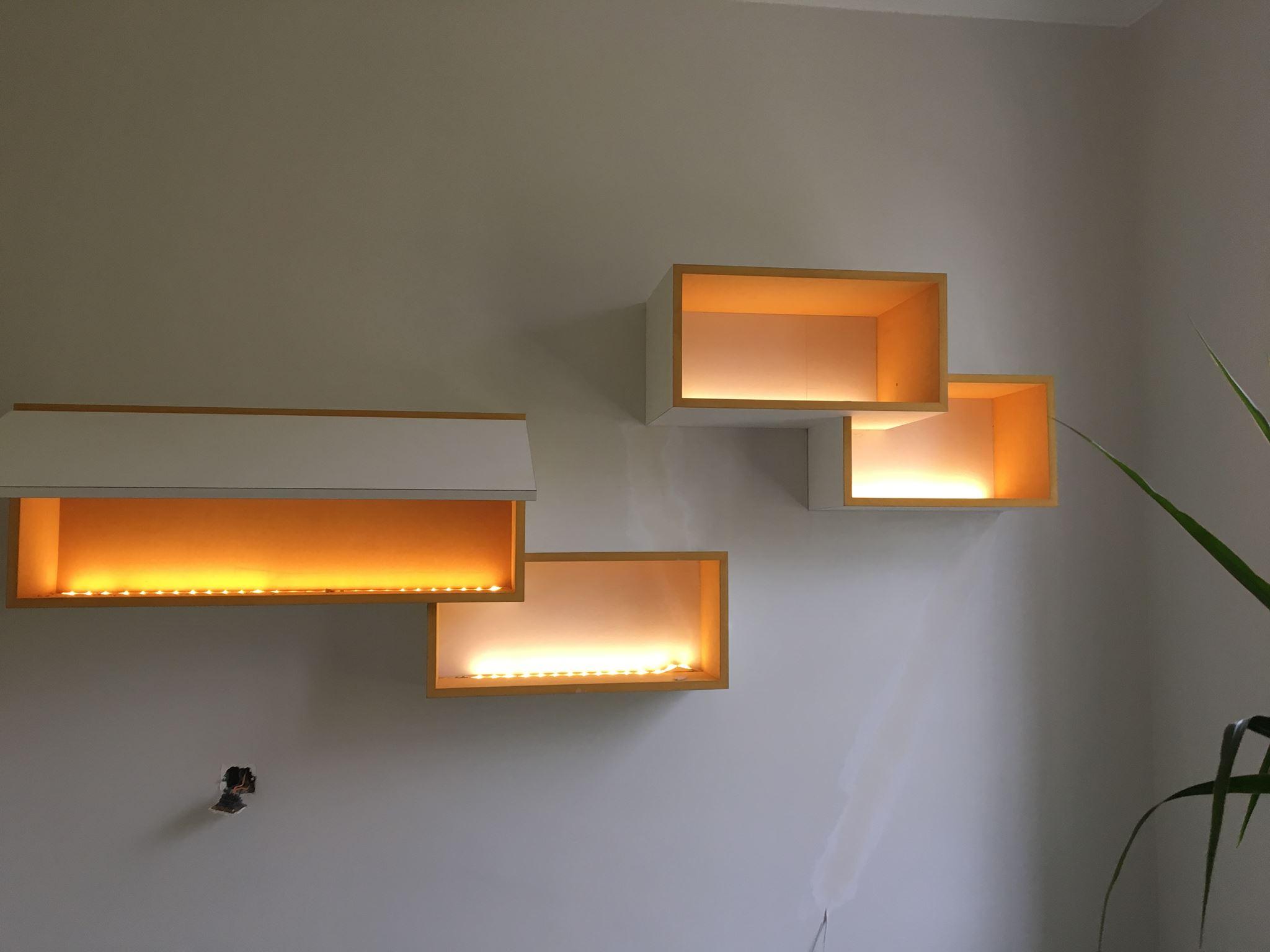 eclairage leds caissons bureau
